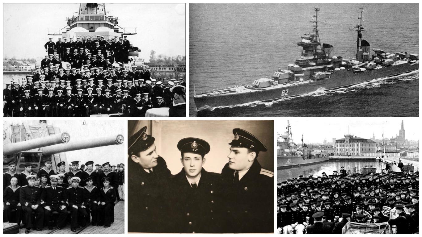 Годы службы на новейшем крейсере